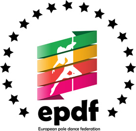 European Pole Dance Federation logo